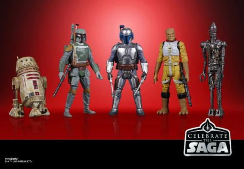 STAR WARS - Celebrate the Saga - Pack de 5 figurines Bounty Hunter