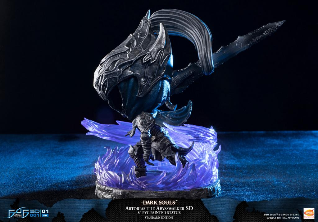 DARK SOULS - Artorias The Abysswalker SD PVC Statue - 21cm