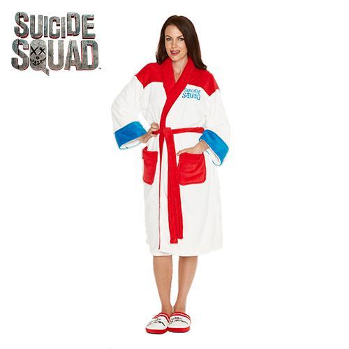 SUICIDE SQUAD - Peignoir - Harley Quinn - Adulte - Taille Unique