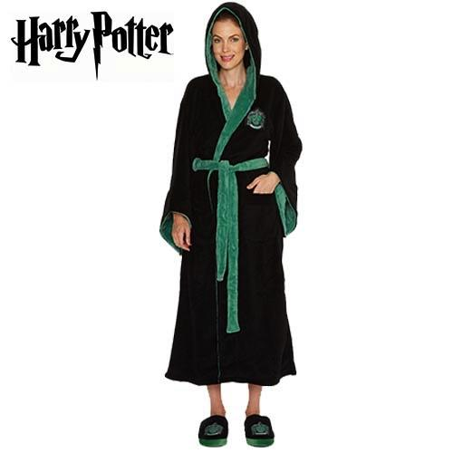 HARRY POTTER - Peignoir Femme - Slytherin - Adulte - Taille Unique
