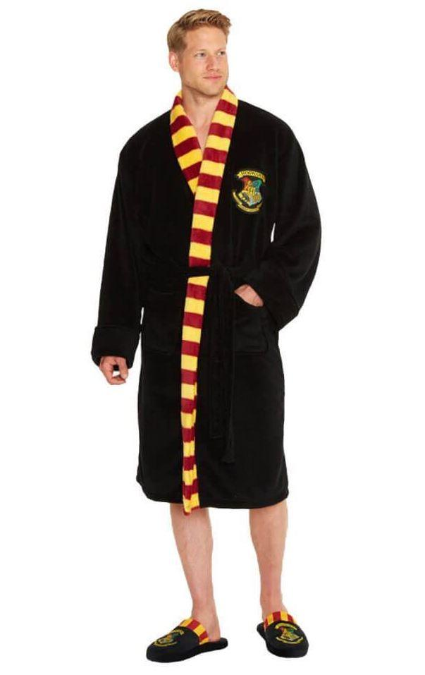 HARRY POTTER - Peignoir Homme - Hogwarts - Adulte - Taille Unique