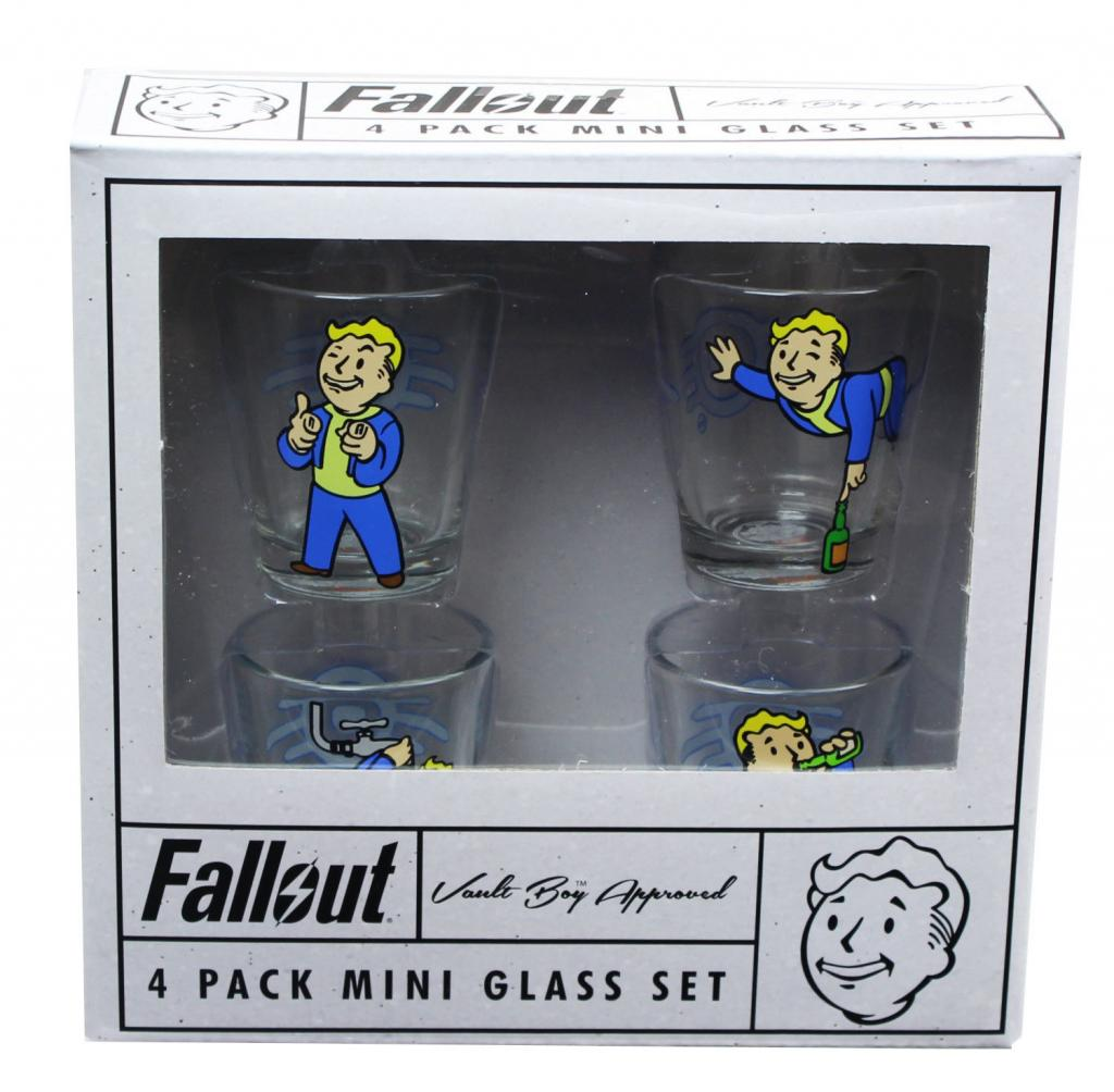 FALLOUT - 4 Mini Shot Glass