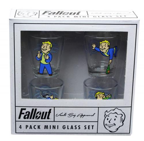 FALLOUT - 4 Mini Shot Glass