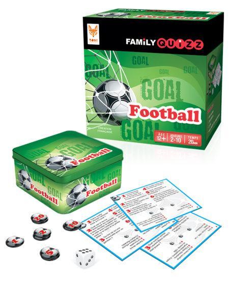 FAMILY QUIZZ - Le Jeu de Société - FOOTBALL