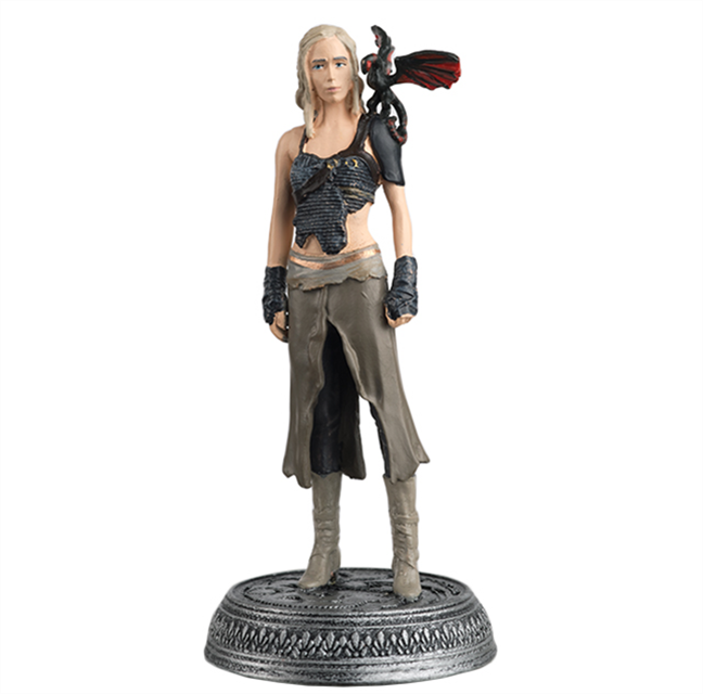 GAME OF THRONES - Figurine Col. 1/21 -  Dothraki - 9.6cm