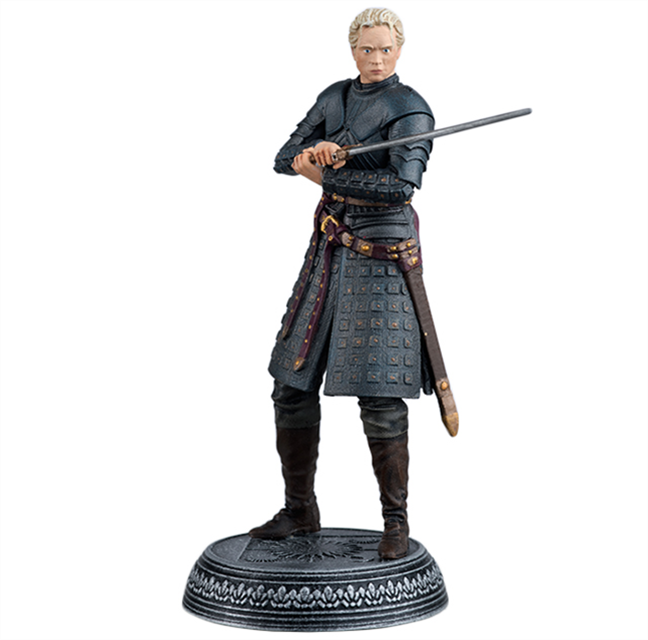 GAME OF THRONES - Figurine Col. 1/21 -  Brienne of Tarth - 10.2cm
