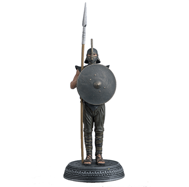GAME OF THRONES - Figurine Col. 1/21 -  Unsullied Warrior - 12.8cm_1