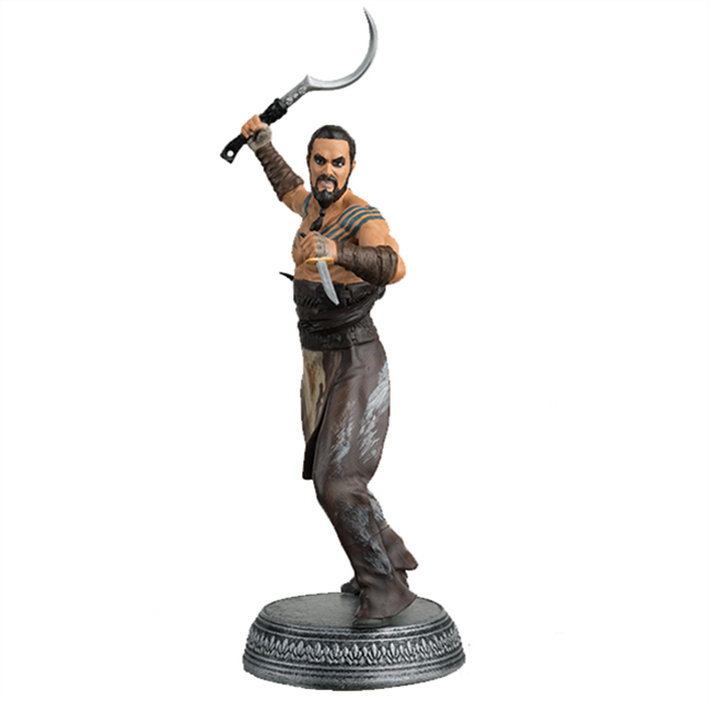 GAME OF THRONES - Figurine Col. 1/21 -  Khal Drogo - 10.6cm_1