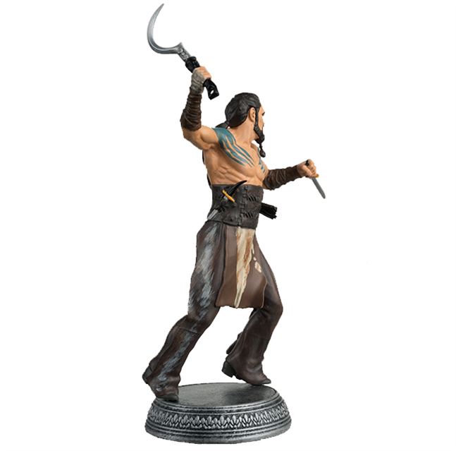 GAME OF THRONES - Figurine Col. 1/21 -  Khal Drogo - 10.6cm_5