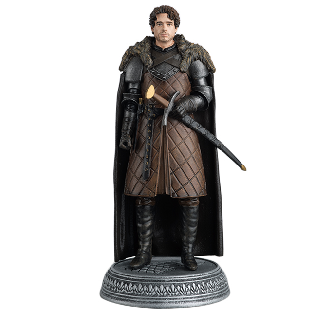 GAME OF THRONES - Figurine Col. 1/21 -  King of the North - 9.7cm_1
