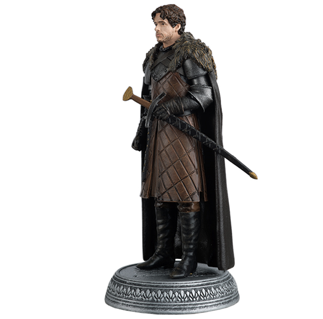 GAME OF THRONES - Figurine Col. 1/21 -  King of the North - 9.7cm_2