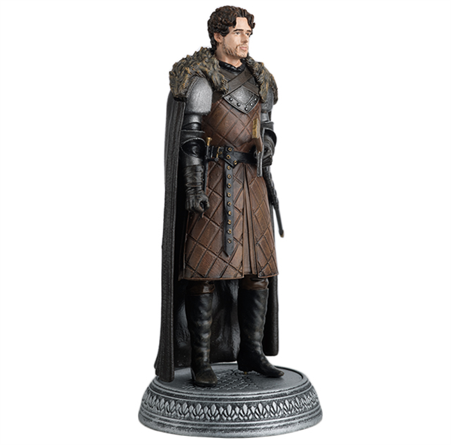 GAME OF THRONES - Figurine Col. 1/21 -  King of the North - 9.7cm_6