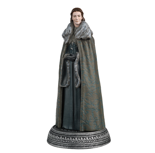GAME OF THRONES - Figurine Col. 1/21 -  Catelyn Stark - 8.9cm_1