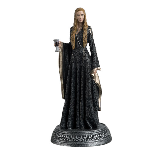 GAME OF THRONES - Figurine Col. 1/21 -  Cersei Lannister - 10.4cm