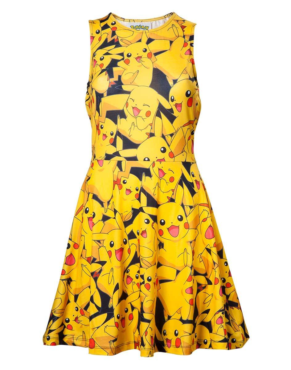 POKEMON - All Over Pikachu Dress (L)