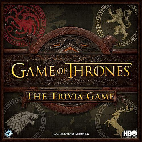 GAME OF THRONES - The Trivia Game - Board Game - 'Version Anglaise'