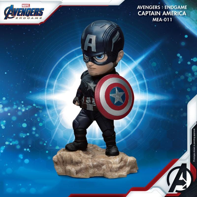 MARVEL - Figurine Avengers Captain America - Mini Egg Attack - 10cm