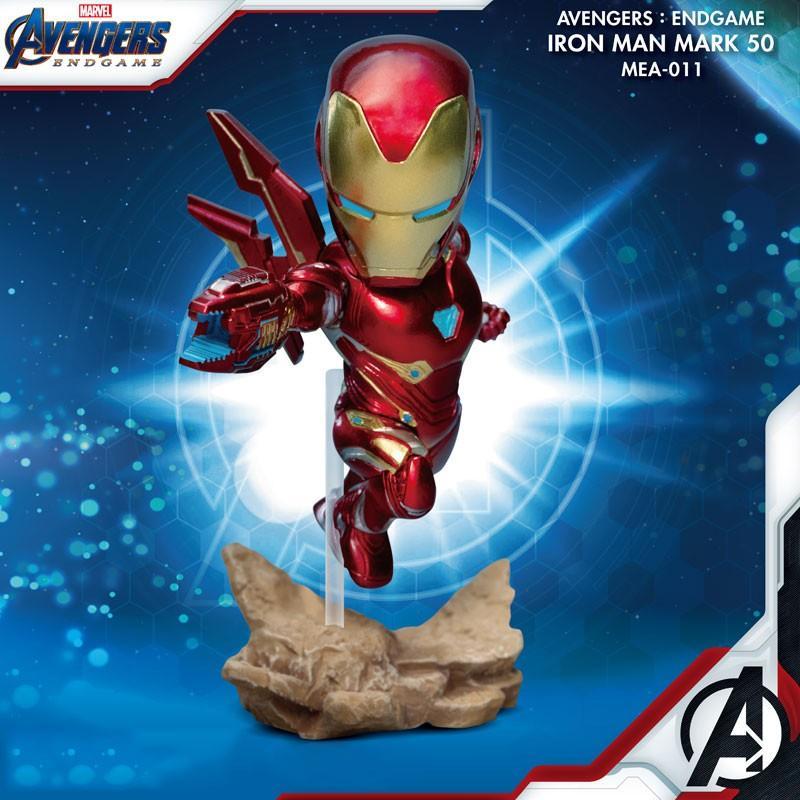 MARVEL - Figurine Avengers Iron Man - MK50 - Mini Egg Attack - 10cm