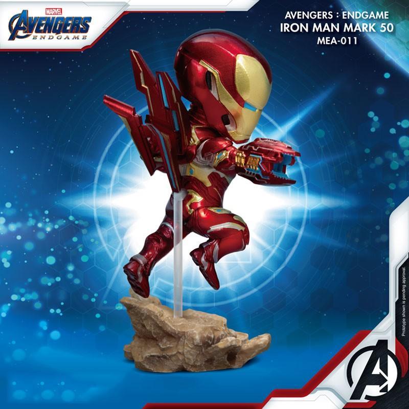 MARVEL - Figurine Avengers Iron Man - MK50 - Mini Egg Attack - 10cm_2