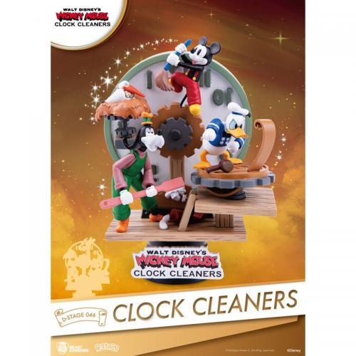 DISNEY - Mickey & Cie laveurs d'horloge - D-Stage 15cm