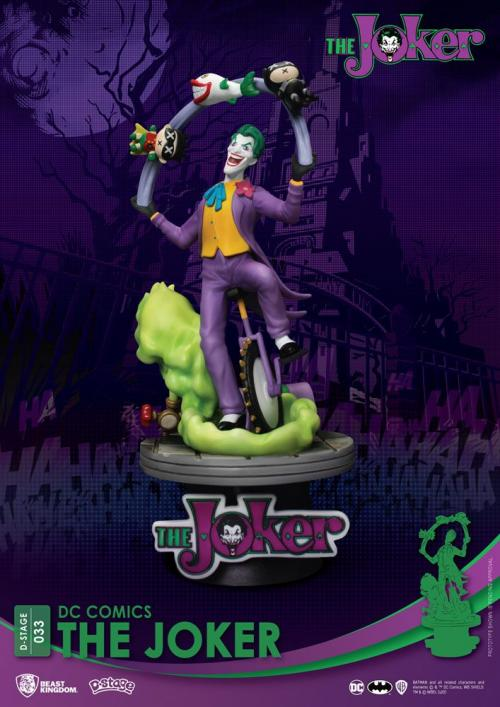 DC COMICS - The Joker - D-Stage 15cm