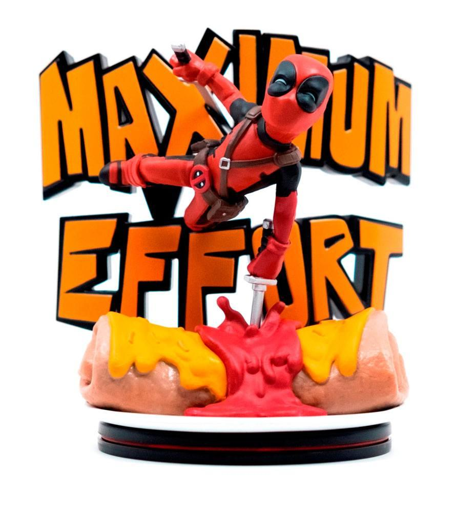 MARVEL - Q-Fig 14 cm - Deadpool Maximum Effort