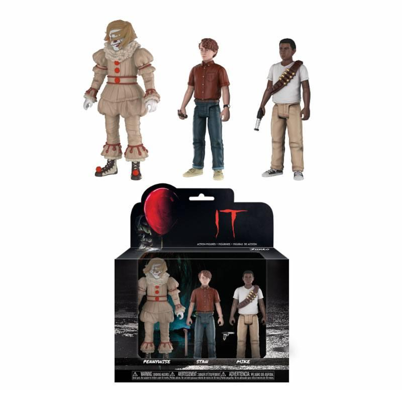 CA - Pack 3 figurines - Pennywise, Stan & Mike - 12cm