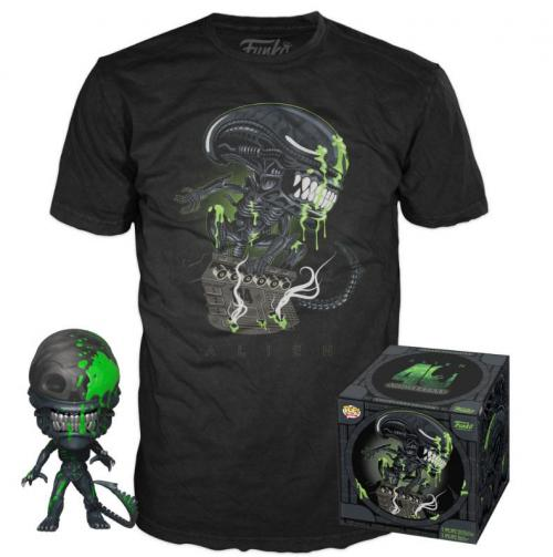 ALIEN - POP! & Tee Set - Xenomorph - S