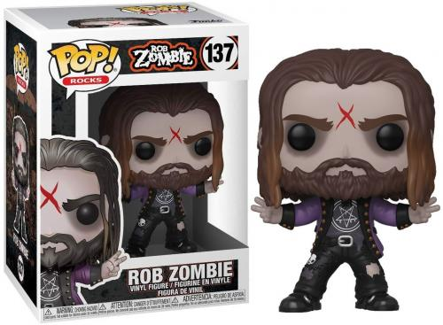 ROB ZOMBIE - Bobble Head POP N° 137 - Rob Zombie - 9cm