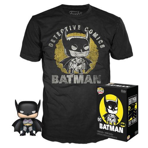 DC COMICS - POP! & Tee Set - Batman - S