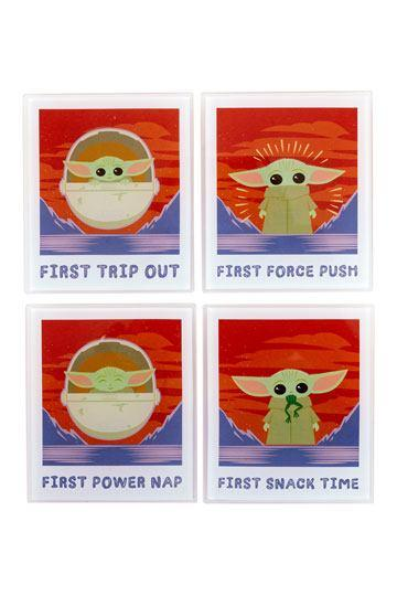 STAR WARS - The Child Polaroids - Pack de 4 sous-verres