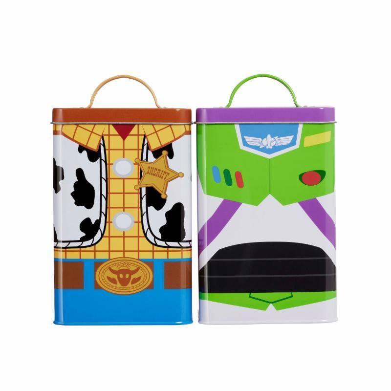 DISNEY - Toy Story 4 - Boites de Rangement - Buzz & Woody