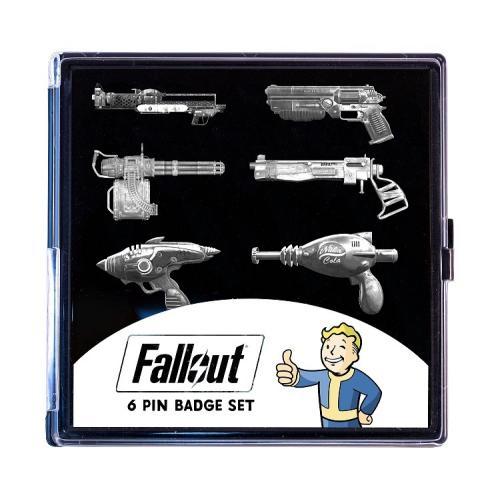 FALLOUT - Set de 6 Pin's édition limitée