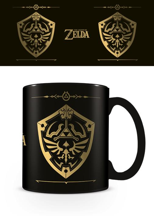 LEGEND OF ZELDA - Foil Mug - 315 ml - Hylian Shield