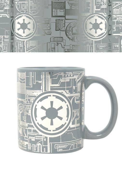 STAR WARS - Foil Mug - 315 ml - Death Star Surface_1