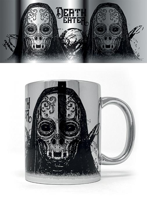 HARRY POTTER - Metallic Effect Mug - 315 ml - Death Eater