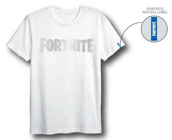 FORTNITE - T-Shirt Logo White (S)