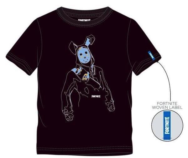 FORTNITE - T-Shirt Kids Rabbit Balck (10 ans)