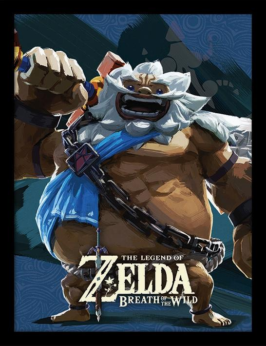 ZELDA BREATH OF THE WILD - Collector Print HQ 32X42 - Vah Rudania