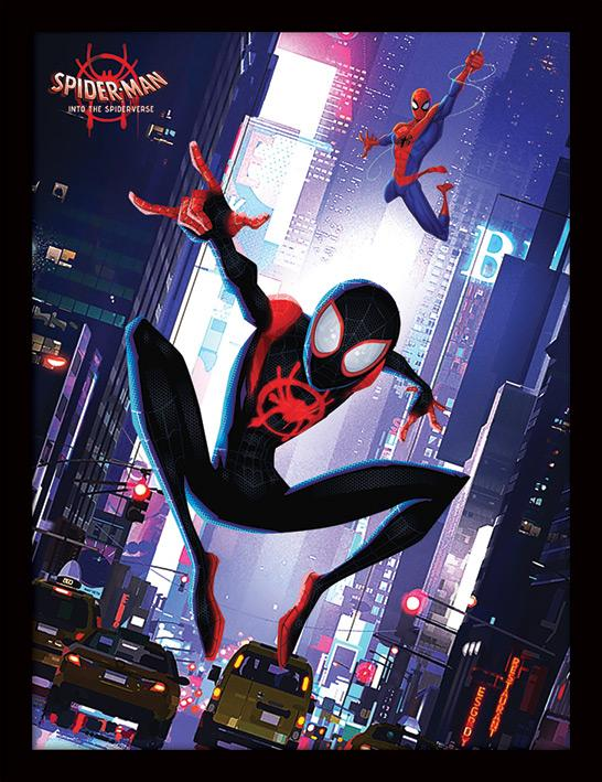 SPIDER-MAN INTO THE SPIDER-VERSE - Collector Print HQ 32X42 - Swing
