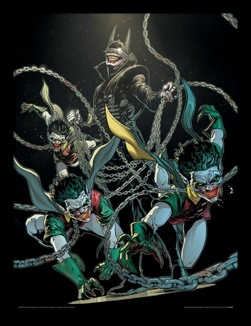 DC COMICS - Framed 30X40 Print - Batman - The Batman Who Laughs