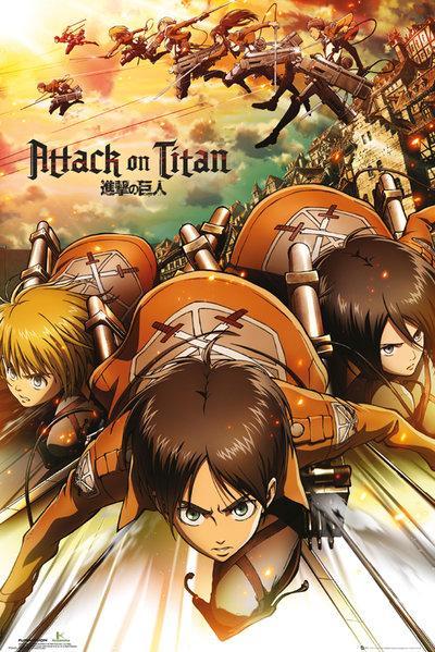 ATTACK ON TITAN - Poster 61X91 - Attack