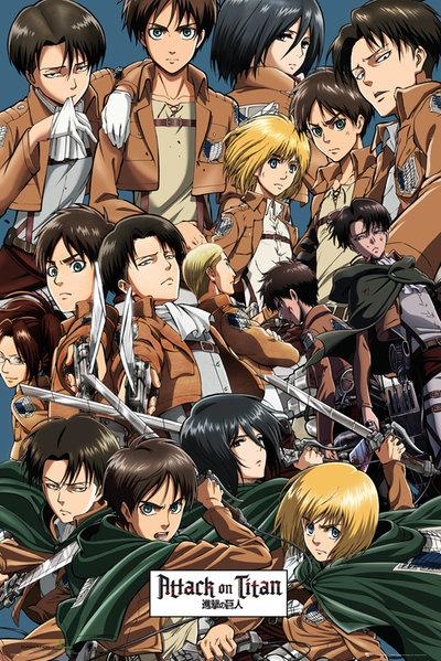 ATTACK ON TITAN - Poster 61X91 - Collage