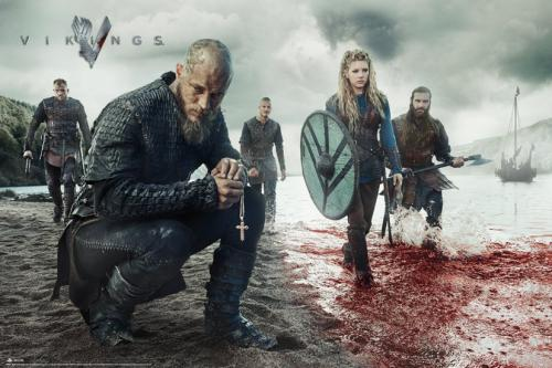 VIKINGS - Blood Landscape - Poster '61x91.5cm'