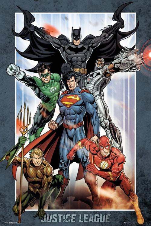 DC COMICS - Justice League Group - Poster '61x91.5cm'