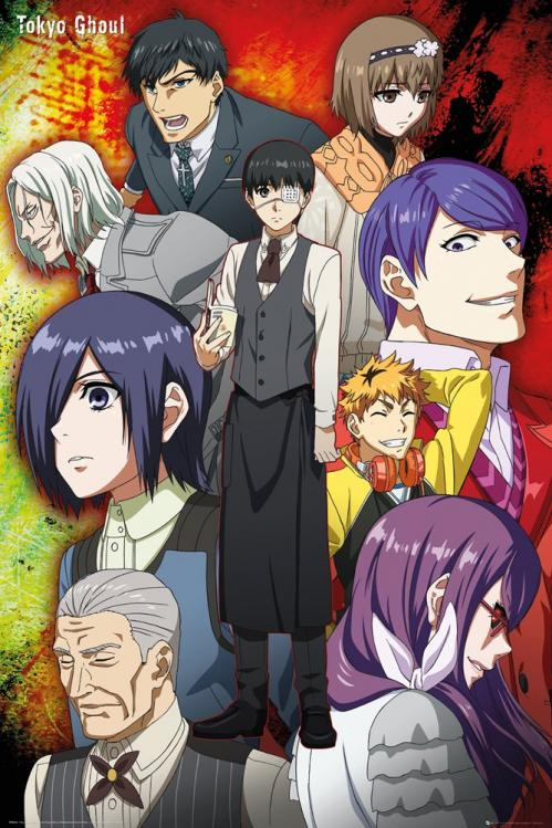 TOKYO GHOUL - Group - Poster '61x91.5cm'