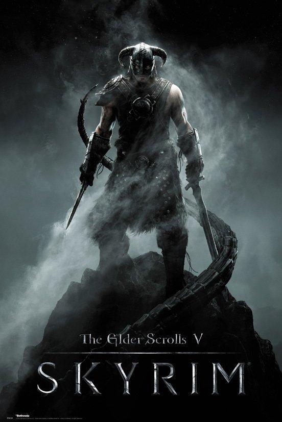 SKYRIM - Poster 61X91 - Dragonborn