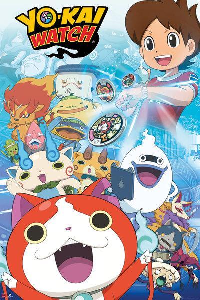 YO-KAI WATCH - Poster 61X91 - Key Arts