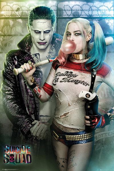 SUICIDE SQUAD - Poster 61X91 - Joker and Harley Quinn