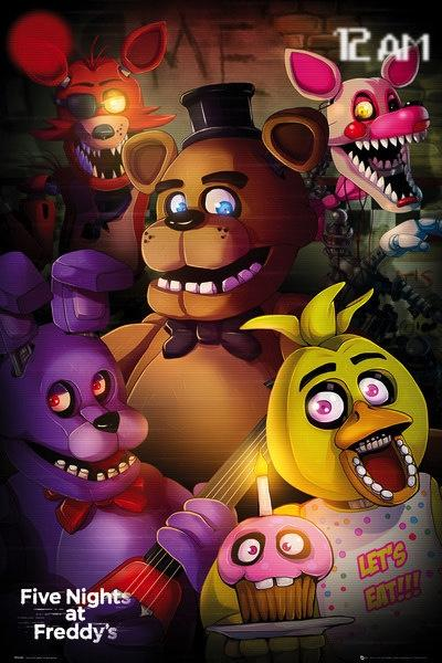 FIVE NIGHTS AT FREDDY'S - Poster 61X91 - Group
